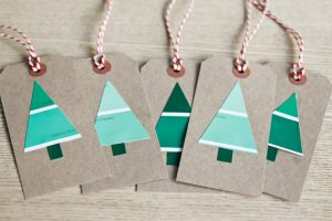 Christmas tree swatches