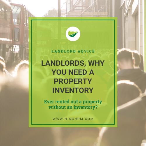 Why you need a Property Inventory