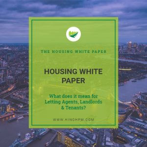 Hinch Property ManagementHousing White Paper: What does this