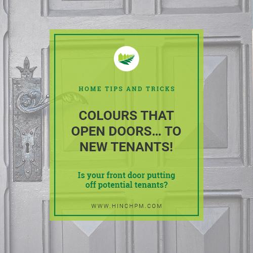 The most popular front door colours
