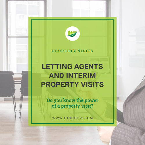 Letting agents and interim property visits