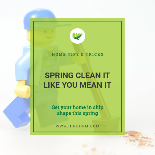 Spring Clean It Like You Mean It