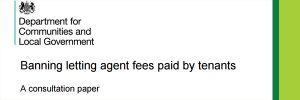 Banning Letting Agents Fees