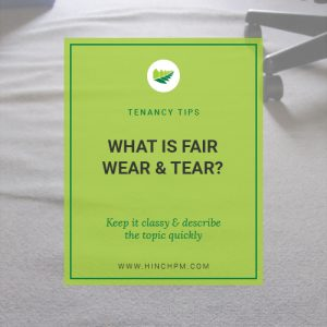 What is Fair Wear and Tear
