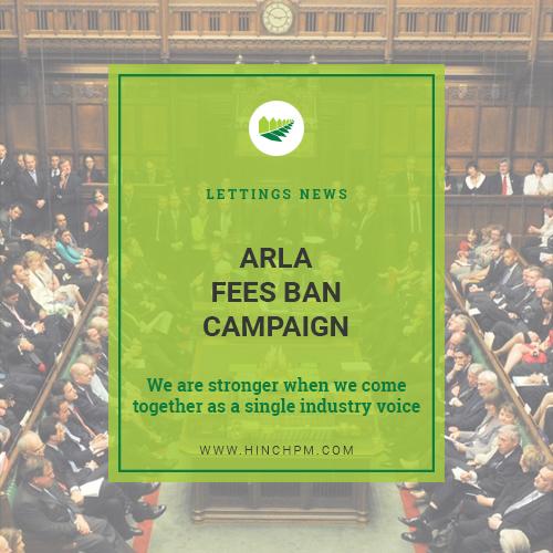 ARLA Fees Ban Campaign