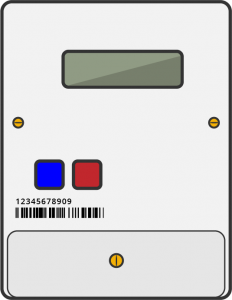Landis + Gyr Electricity Smart Meter