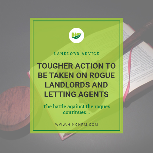 Tougher action to be taken on rogue landlords and letting agents