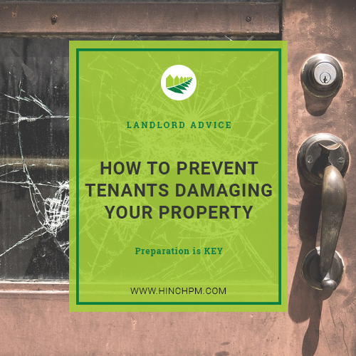 How to prevent tenants damaging your property