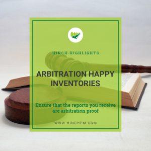 Arbitration Happy Inventories