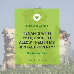 Tenants with pets title