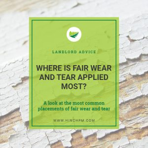 Where is fair wear and tear applied most title image