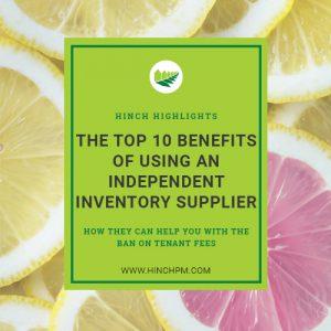 Independent inventory supplier blog post