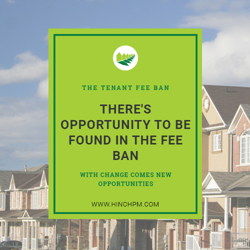 There's opportunity to be found in the fee ban